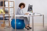 Een zitbal helpt bij het verkrijgen van een betere lichamelijke conditie!
